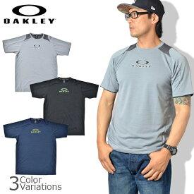 OAKLEY(オークリー) ENHANCE SS CREW 9.7 エンハンス 半袖 クルー Tシャツ 【レターパックライト対応】458096