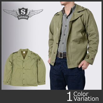 SESSLER (セスラ) M-41 FIELD JACKET WW2 MODEL (M-41 field jacket Great War model) #A-812