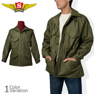 SESSLER(sesura)M-43 FIELD JACKET WWII REPLICA(M43场茄克大战役型号)A-502