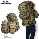 U.S SURPLUS(USサープラス) 米軍放出未使用品 海兵隊 大型遠征 バッグパック セット USMC ILBE MARPAT BACKPACK SYS…