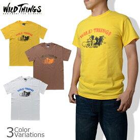 "WILD THINGS(ワイルドシングス) 半袖プリントTシャツ""VULTURE(バルチャー)"" 14FWWT040031"