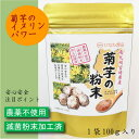 菊芋の粉末パウダー宮崎県産100%|農薬不使用|滅菌粉末加工処理済 100g【ひなた食品】