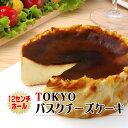 TOKYOバスクチーズケーキ〜焦がし砂糖が香ばしいスペイン バスク風チーズケーキ〜4号 ホールケーキ【新商品】【新東…