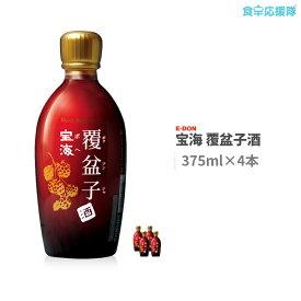 宝海 覆盆子酒 375ml×4本 ボヘ ボクブンジャ酒 野いちご酒 韓国お酒 二東