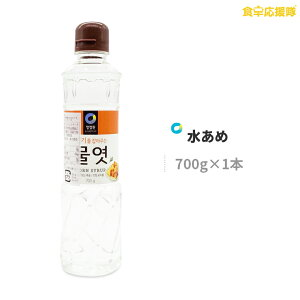 水飴 700g 水あめ 韓国調味料 チョンジョンウォン