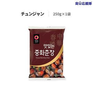 スンチャン チュンジャン 250g 美味しい中華チュンジャン 韓国 調味料 黒味噌