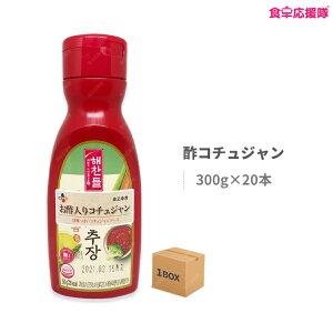 酢コチュジャン 300g×20個 1ケース チョコチュジャン コチュジャン CJ 韓国 調味料