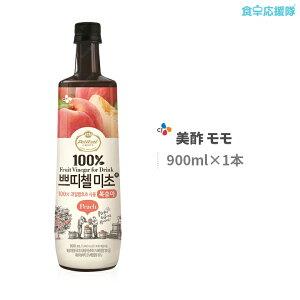 ミチョ 美酢 モモ味 900ml プティチェル 美酢 ミチョ 飲むお酢 果実酢 韓国食品 韓国食材