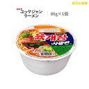 ユッケジャンラーメン 86g カップ麺 農心 インスタント 韓国ラーメン