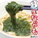 佐渡産 生ながも(あかもく)一番刈り 200g 佐渡特産品 新潟県 長藻 アカモク マルハフーヅ海藻 そのまま 味噌汁 ごは…