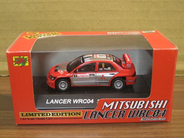 『ラリーカーコレクション 三菱 ランサー WRC04 限定品』