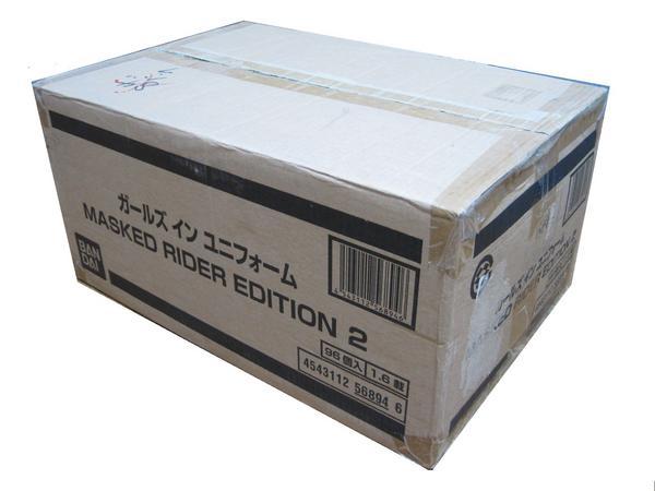 1カートン(96個)ガールズ イン ユニフォーム マスクドライダー02