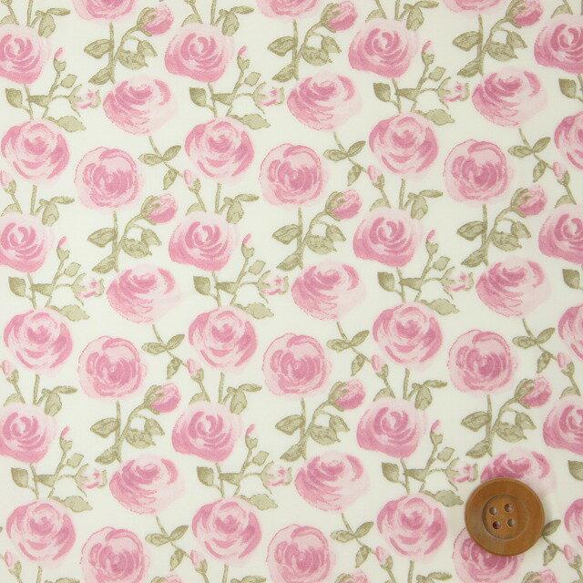 【サンドウオリジナルカラー】リバティプリント タナローン(Rose Marie オーキッドピンク)ローズ・マリー【09-3639153・J19B】リバティ