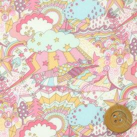 【サンドウオリジナルカラー】リバティプリント タナローン516(Land of Dreams/シュガーピンク)ランド・オブ・ドリームス