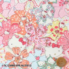 【サンドウ限定復刻色】ハローキティ × リバティプリント タナローン(Mauvey Hello Kitty ライトピンク)モービー・ハローキティ【DC27905・12B】
