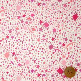 リバティプリント タナローン(Fizz Pop フィズ・ポップ)ピンク【19-3639121・19CT】