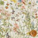 リバティプリント タナローン生地(Wild Flowers/ライトグリーン&パステル)ワイルド・フラワーズ【3634251】 リバティ