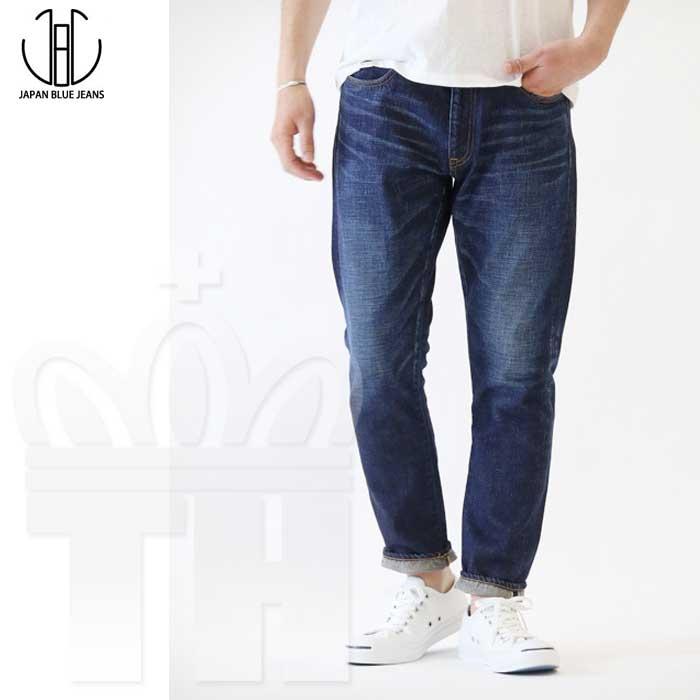 日本 アジアフィット JAPAN BLUE JEANS(ジャパンブルージーンズ) メンズ スリムジーンズ「12.5ozアフリカ綿 ヴィンテージセルヴィッチ プレップ メルローズ加工 デニムパンツ」JB6104Z-J (ME) 日本製