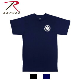 Rothco 2-Sided EMT T-Shirt(ロスコ EMT Tシャツ)6676他(2色)