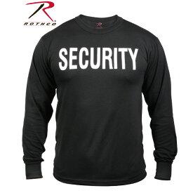 ロスコ ロングスリーブ セキュリティーTシャツRothco Long Sleeve Security T-Shirt 60222