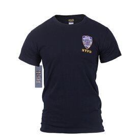 ロスコNYPDエンブレムTシャツ/ROTHCO Officially Licensed NYPD Emblem T-shirt 6656