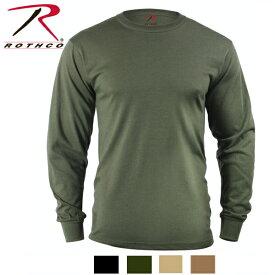 ロスコ ロングスリーブ無地TシャツRothco Long Sleeve Solid T-Shirt 60118