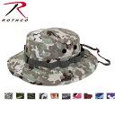 ロスコ迷彩カモ ブーニーハットRothco Camo Boonie Hat(10色)5800