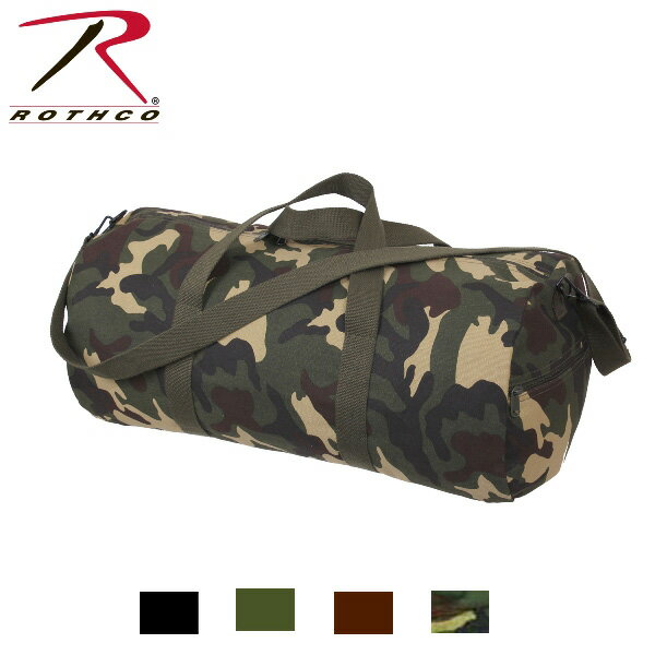 "ROTHCO(ロスコ)24""キャンバスショルダーバッグ/24""Canvas Shoulder Bag:2224他(4色)"