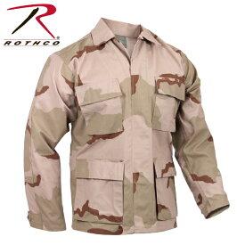 ロスコBDUポリxコットン リップストップ シャツ ジャケット/ROTHCO RIP STOP B.D.U. SHIRTS/9810
