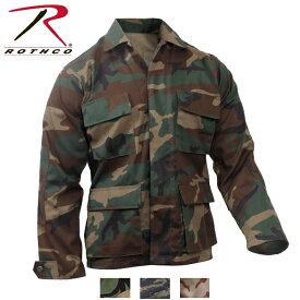ロスコ迷彩BDUシャツジャケット/Rothco Camo BDU Shirt/7940他(3色)