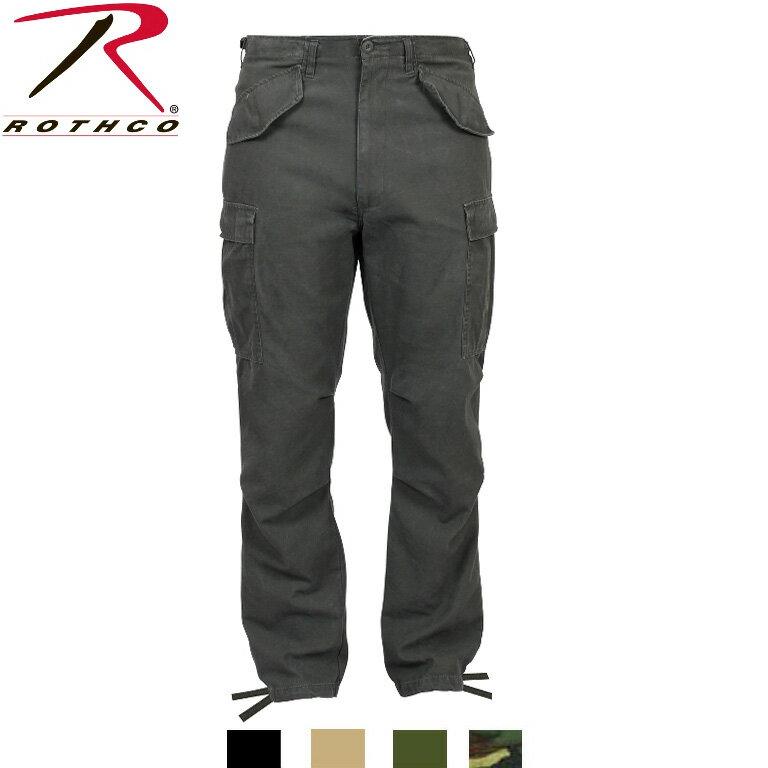 ROTHCO(ロスコ)ビンテージM-65フィールドパンツ VINTAGE M-65 FIELD PANTS:2601他(4色)