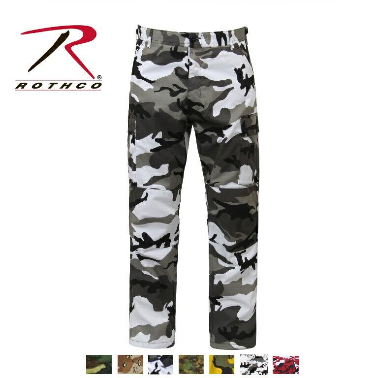 ROTHCO(ロスコ)6ポケットカーゴパンツ/TWILL B.D.U. PANTS:7471他(7色)