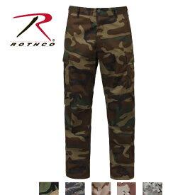 ロスコ迷彩カモ6ポケットカーゴパンツ/RothcoCamoTacticalBDUPant:7941他(5色)