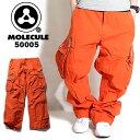 送料無料! MOLECULE モレキュール ミリタリー カーゴパンツ オレンジ 50005 メンズ ゆったり 6ポケット カーゴパンツ ミリタリーパンツ 迷彩 パンツ ズボン だぼパン 橙色 カーゴ