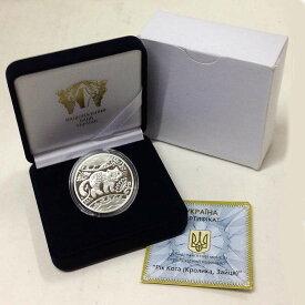 2011 シルバーキャットコイン 猫 銀貨 ウクライナ