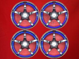 【12/1限定★エントリーdeポイント12倍確定!最大27倍!!】KREUZER(クロイツァー) Series V(シリーズV) 8Jx17 +38 5/114.3 ブラック(黒色)系 シルビア マークX ランサー エボリューション VIII ランサー エボリューション VII IS250C スカイライン GTO RX-8
