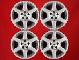 ランドローバー フリーランダー純正6本スポーク 7Jx17 +46 5/114.3 シルバー(銀色)系