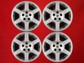 ランドローバー フリーランダー純正6本スポーク 7Jx17 +46 5/114.3 シルバー(銀色)系 フリーランダー