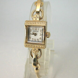 HAMILTON lady Hamilton vintage MOP dial Japan-limited kit H31231113K Lady's watch skin belt 付正規品
