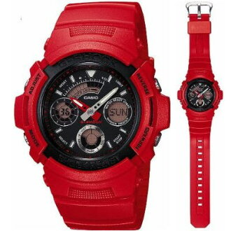 G shock Casio 6600 REDMAN model US Culture Series AW-591RED-4AJR