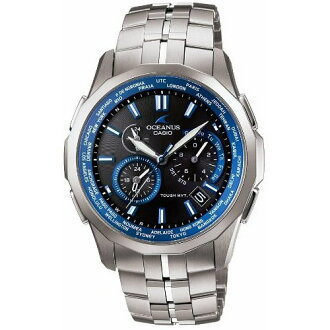 Casio Oceanus watch クロノグラフマンタ MULTIBAND6 TOUGH MVT OCW-S1400-1AJF