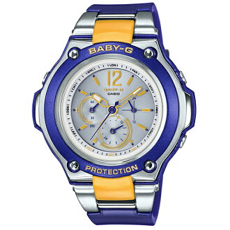 Baby-g babysit watch Tripper (Tripper) slim solar radio BGA-1400-2B2JF national genuine ladies