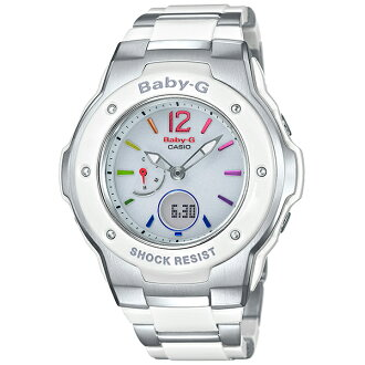 Baby-g babysit watch solar radio MSG-3300-7B1JF national genuine ladies