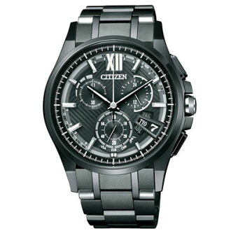 CITIZEN citizen ATTESA atessa Eco-Drive solar radio direct flight 25th anniversary commemorative No. 3 bullet material limited BY0094-79E mens watches