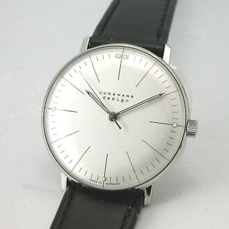 Max Bill BY ユンハンス JUNGHANS hand-wound watch 027 3700 00 regular products