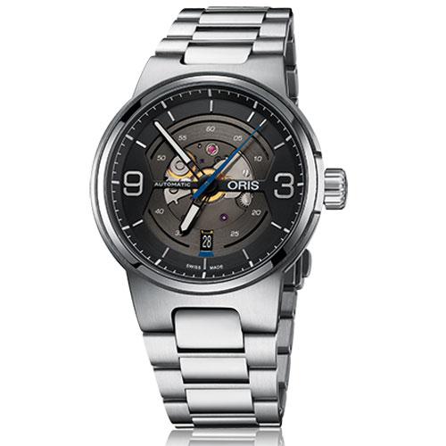 ORIS オリス 腕時計 ウィリアムズ スケルトンエンジン デイト 自動巻き Ref.73377164164 メンズ 国内正規品