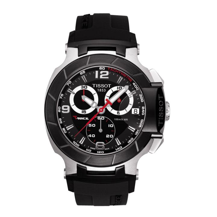 TISSOT ティソ 腕時計 T-RACE Tレース クロノグラフT048.417.27.057.00 国内正規品 メンズ