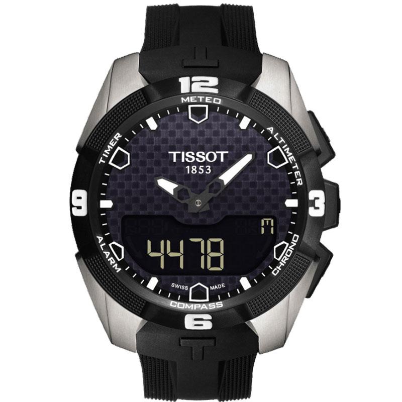 TISSOT ティソ 腕時計 T-TOUCH ティータッチエキスパート ソーラー チタン EXPERT SOLAR T091.420.47.051.00 メンズ 国内正規品