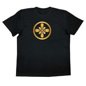 家紋TシャツのThe C'mon 丸に梨の切り口【戦国武将 メンズ 半袖 おもしろTシャツ tシャツ おもしろ 面白いtシャツ プレゼント お笑いTシャツ ジョークTシャツ おもしろ雑貨 ティーシャツ 俺流