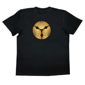 家紋TシャツのThe C'mon 三つ割り向こう梅【戦国武将 メンズ 半袖|おもしろTシャツ tシャツ おもしろ 面白いtシャツ プレゼント お笑いTシャツ ジョークTシャツ おもしろ雑貨 ティーシャツ 俺流